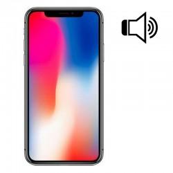 Cambiar Altavoz iPhone X