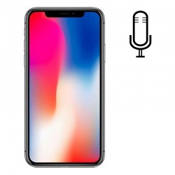 Cambiar Micrófono iPhone X